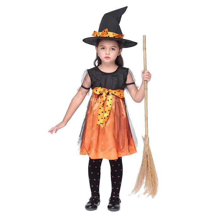 Witch girl costume  sc 1 st  Rakuten & Suzuya Rakuten Ichiba | Rakuten Global Market: Halloween kids ...