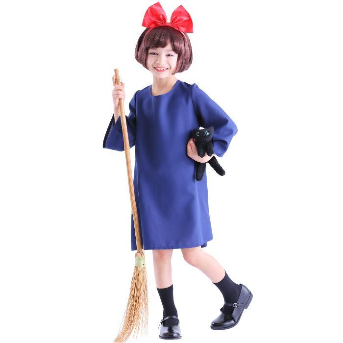 Halloween Costumes ♢ Witchu0027s Kikiu0027s Delivery Service Kiki Costume Cm/120  100 Cm / 140 ...