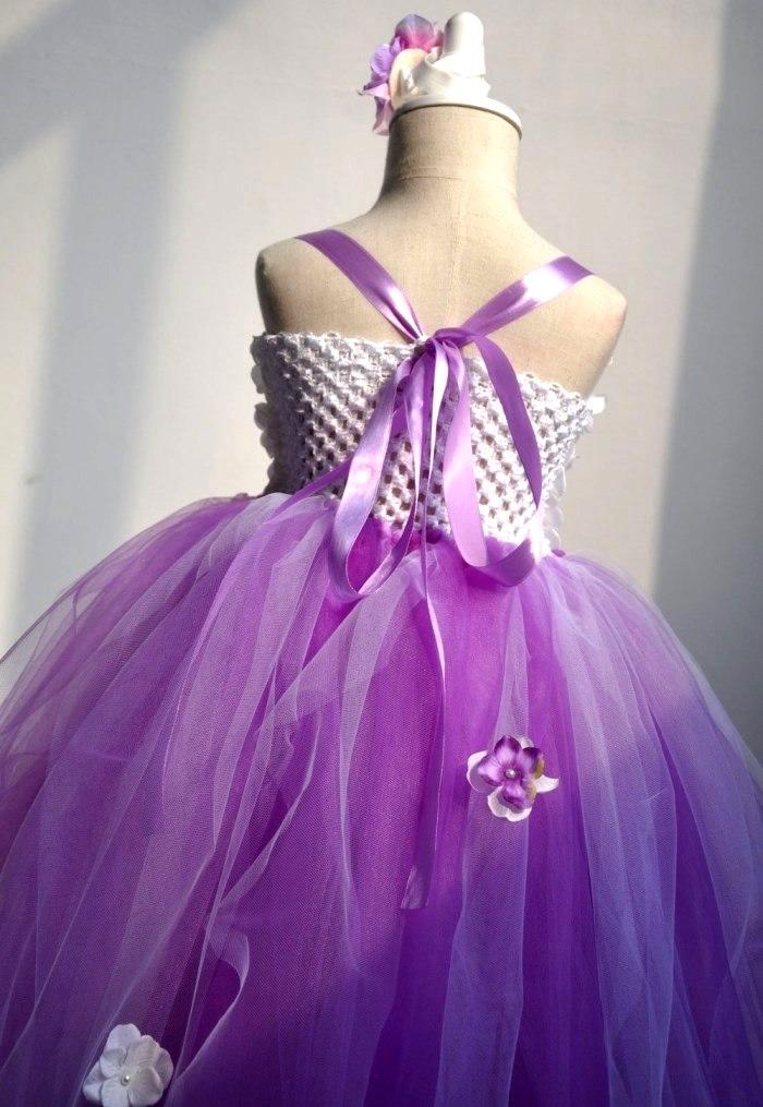 3709400b3b ... Lavender Tutu dress □ girls   children s costume costumes   Princess   Halloween  costumes kids ...