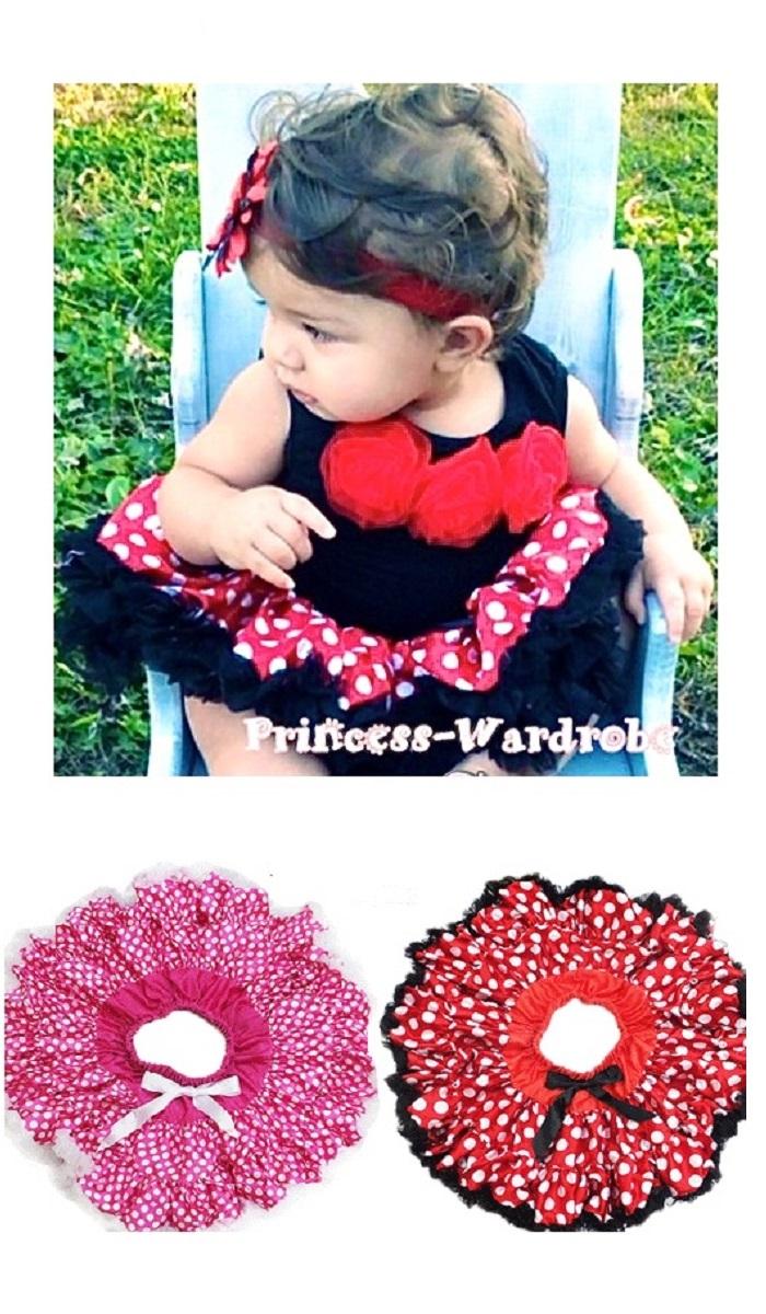 8327ae368 ... Pannier tutu □ Princess-wardrobe petticoat skirt skirt tutu pannier dot  pattern medium size ...