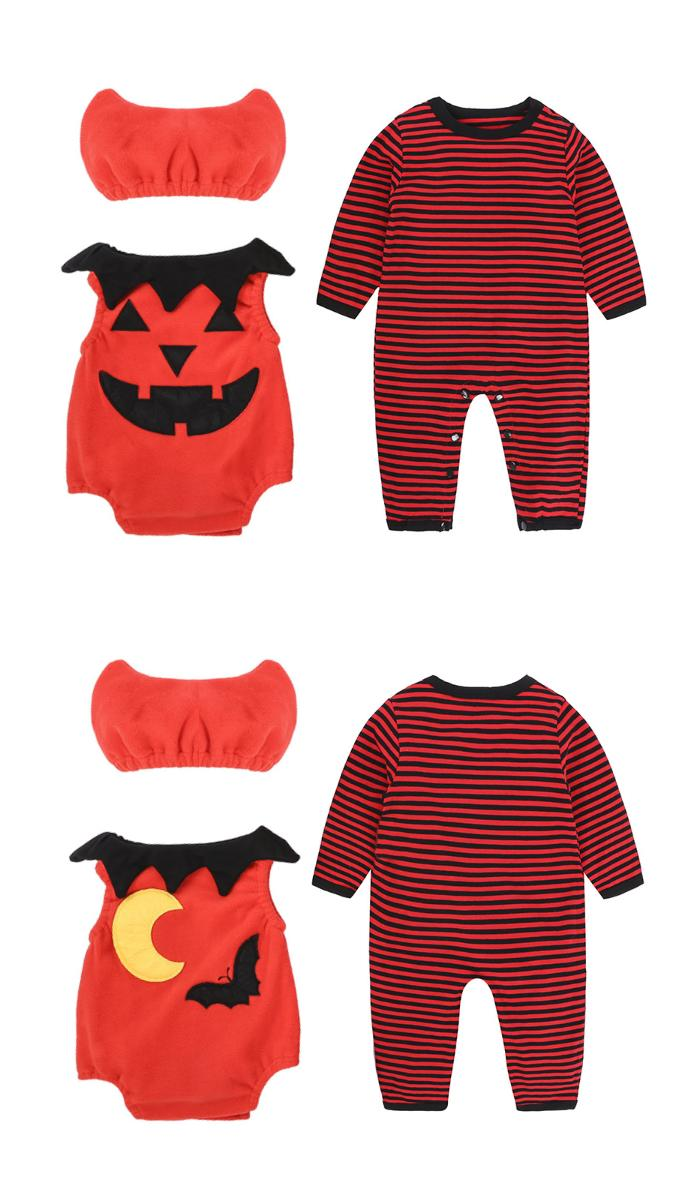 Suzuya Rakuten Ichiba Halloween Baby Costume New Pumpkin Fleece