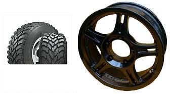 特価アルミホイール&ホイールセットSSJレーシングブラックパール+トランパスMT195R16組替え、バランス済4本SET