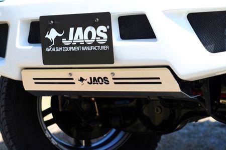 【JAOS ジャオスフロントスポーツカウル用スキッドプレート  ジムニー JB23系】 スズキ ジムニーJB23W定価¥12,000(税別)
