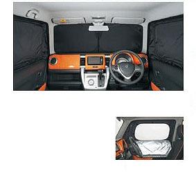 スズキハスラー用フロントプライバシーシェード(メッシュ付き)99000-99034-D88定価\22,000(税別)
