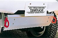 タニグチ製スズキジムニーJB23WFRPバンパー用スキッドプレート)左右けん引フック付定価\24,800(税別)