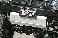タニグチ製スズキジムニーJB23WFRPスタイリッシュバンパー用スキッドプレート定価\20,800(税別)