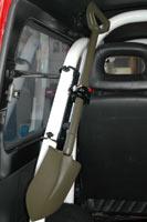 スズキジムニーJB23・33・43用ロールバー用システムステー48.6φ用 定価¥5,200/セット(税別)