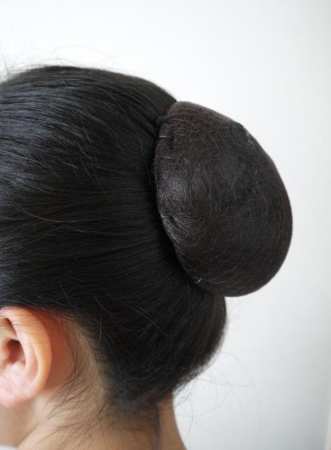 芭蕾舞发网♪shiniyonsofutotaipu 3个装暗褐色头发喜爱米粉团课练习发表会芭蕾舞用品杂货的制造茶色芭蕾舞用品燕子海(JJ-042)