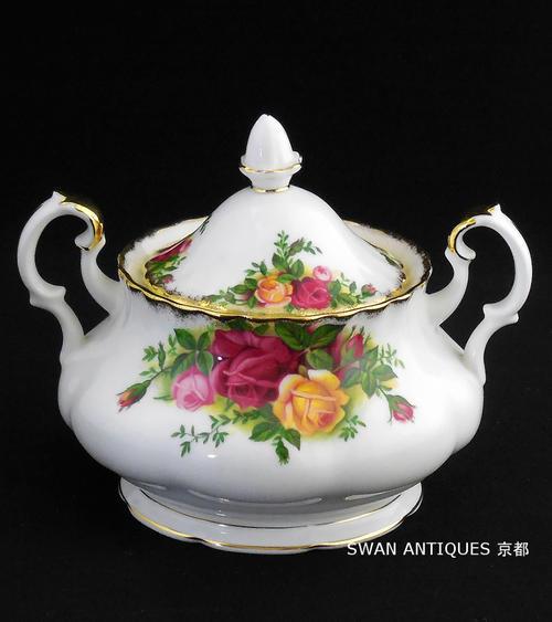 royal albert old country roses teapot reduced ロイヤルアルバートバラティーポット