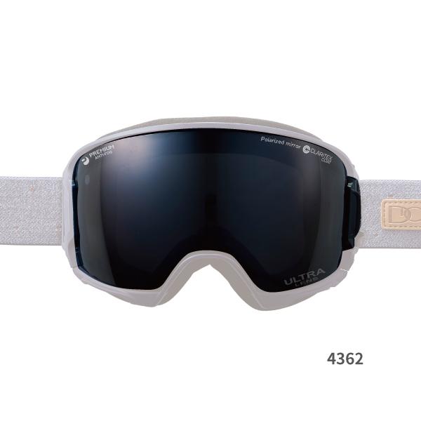 DICE ダイスゴーグルレンズ LHR4362 BLK【偏光 ULTRA ミラー PAF 撥水】交換レンズ スキー スノーボード アイウェア DICE公式ショップ スポーツ アウトドア ウインタースポーツ ゴーグル 日本製