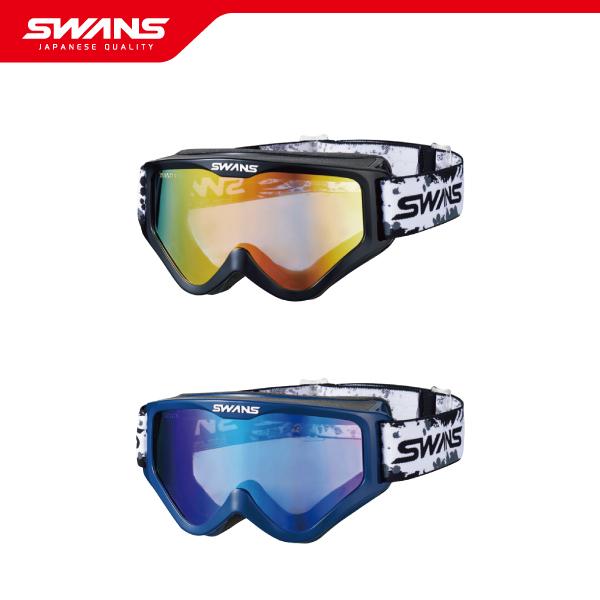 SWANS スワンズ モトクロス ゴーグル MX-797-M BK / DBL メガネ眼鏡対応 フルフェイスヘルメット対応 オフロードバイク【ミラーレンズ 大会 レース プロ アマチュア ファンライダー 送料無料】