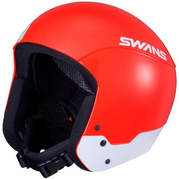 SWANS スワンズ スノーヘルメット HSR-95FIS-RS R/W レーシング(RACING HELMETS) ワンサイズ【スキー スノーボード ヘルメット 大会 イベント アイウェア スポーツ アウトドア ゴーグル】