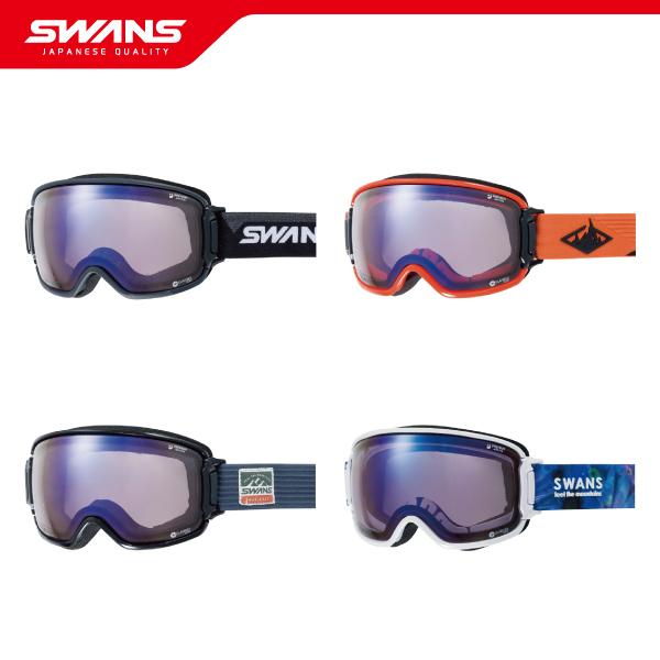SWANS スワンズゴーグル RIDGELINE-CU/MDH-SC-PAF【調光・ULTRA・PAF・撥水・ダブルレンズ】2019-2020 ウインタースポーツ スキー スノーボード アイウェア ジャパンフィット 日本製