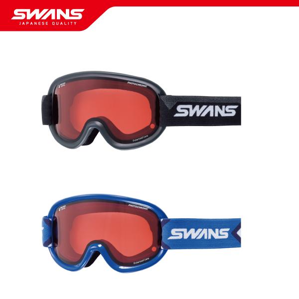 SWANS スワンズゴーグル V4-C/PDH-PAF【調光・偏光・PAF・ダブルレンズ】2019-2020 ウインタースポーツ スキー スノーボード アイウェア ジャパンフィット 日本製