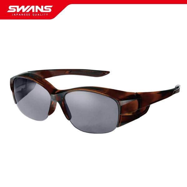 SWANS スワンズ サングラス OG5-0751 SCLA オーバーグラス眼鏡の上に装着可能【偏光レンズ UVカット 紫外線予防 ウォーキング アイウェア SWANS公式ショップ スポーツ アウトドア スポーツウエア ゴーグル 送料無料】
