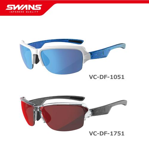 SWANS スワンズ サングラス VC-DF-1051 W/ VC-DF-1751 CLA Vacances DAY OFF デイオフ 【ミラーレンズ アウトドア ゴルフ ウォーキング ドライブ 紫外線対策 アイウェア SWANS公式ショップ スポーツ アウトドア】