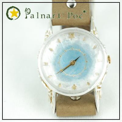 Palnart Poc オリジナルウォッチ錠部には細工がされています パルナートポック ヴォグ p2p2 /(専用ボックス付き/) /(シルバー文字盤/) BroughSuperior 腕時計 ブラフシューペリア