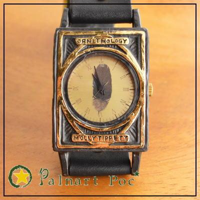 セレンディ ピティ【黒】 腕時計(専用ボックス付き)【Palnart Poc/パルナートポック】【MollyTippett/モリーティペット】 p2p2