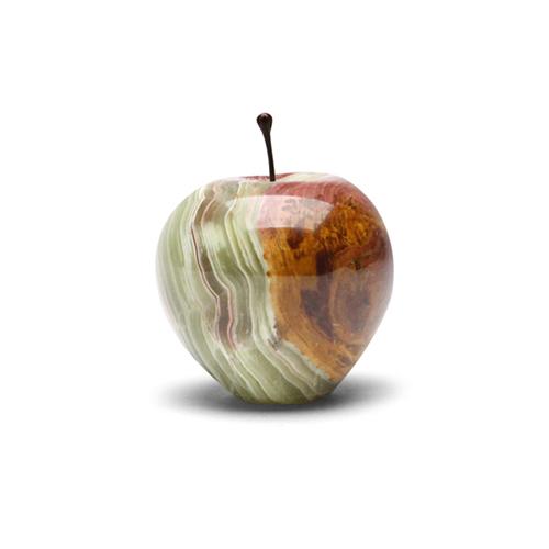 当日出荷 12時までの御注文 大理石を削り出して作ったリンゴのオブジェ マーブル アップル ☆国内最安値に挑戦☆ ラージ Marble Apple Large グリーン Green マーブルアップル りんご 限定特価 ギフト 飾り 林檎 プレゼント ペーパーウェイト 大人 大理石 インテリア
