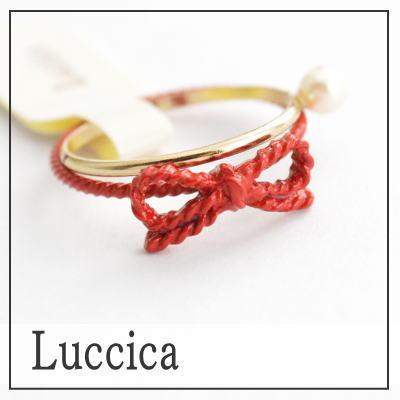 没有财富蝴蝶结小指安排小指环红色的线配饰真的可爱的戒指红蝴蝶结ribon细的5号10P18Jun16