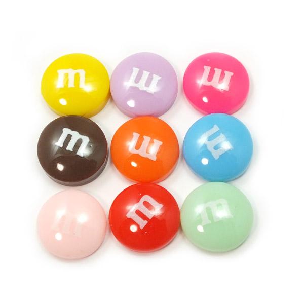 どこかで見たことのある!? mチョコレート☆9色アソート☆スイーツデコパーツ マーブル【RCP】