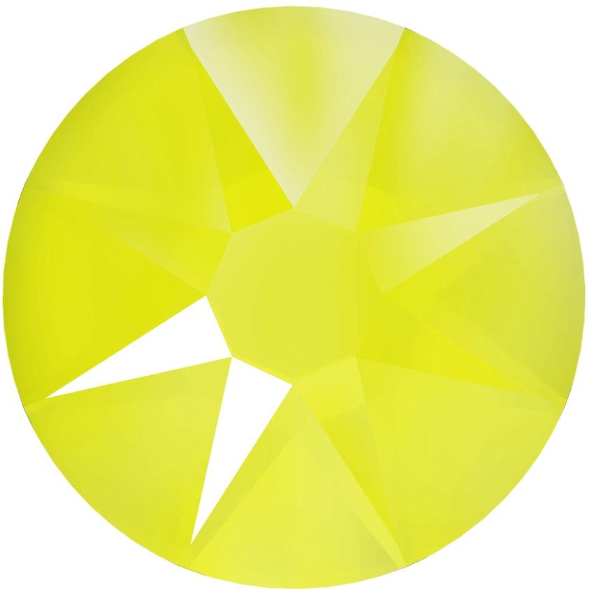 スワロフスキー クリスタルエレクトリックイエロー Crystal Electric Yellow SS30 2グロス 288粒 #2088 グロス販売