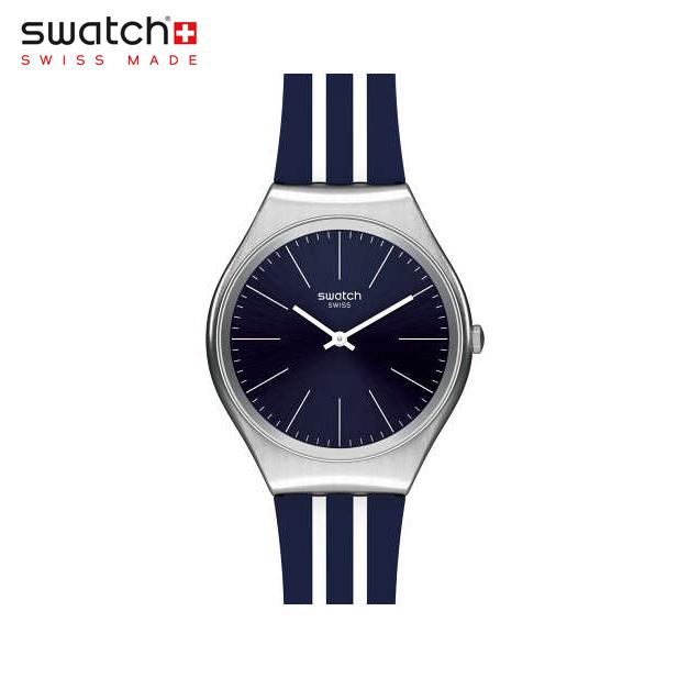 【公式ストア】Swatch スウォッチ SKINBLUEIRON スキンブルーアイロン SYXS106SKIN(スキン) SKIN Irony(スキンアイロニー) 【送料無料】(素材)ベルト:シリコン ケース:ステンレススチールメンズ 腕時計 人気 定番 プレゼント
