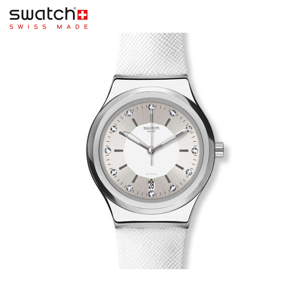 【公式ストア】Swatch スウォッチ SISTEM INSIDE システム・インサイド YIS422sistem51(システム51) Sistem51 Irony(システム51 アイロニー) 【送料無料】(素材)ベルト:皮革 ケース:ステンレススチールレディース 腕時計 人気 定番 プレゼント