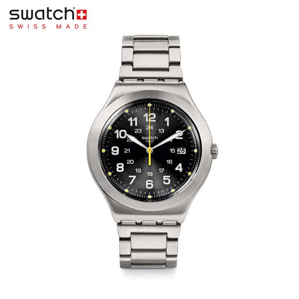 【公式ストア】Swatch スウォッチ HAPPY JOE LIME ハッピージョーライム YWS439GIrony(アイロニー) Irony Big Classic(アイロニービッグクラシック) 【送料無料】(素材)ベルト:ステンレス製(調節可能)メンズ 腕時計 人気 定番 プレゼント