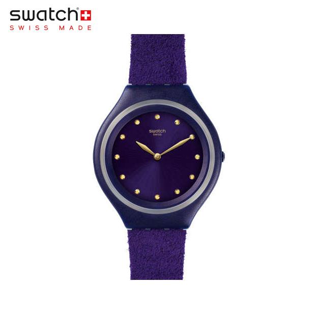 【公式ストア】Swatch スウォッチ SKINVIOLET スキンバイオレット SVUV102SKIN(スキン) Skin Big(スキンビッグ) 【送料無料】(素材)ベルト:合成 皮革 ケース:プラスティックレディース 腕時計 人気 定番 プレゼント