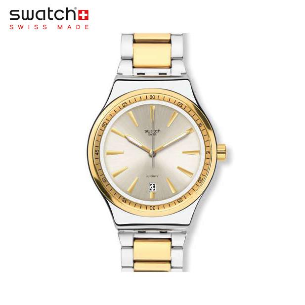 【公式ストア】Swatch スウォッチ SISTEM BLING システム・ブリング YIS429GOriginals(オリジナルズ) Sistem51 Irony(システム51・アイロニー) 【送料無料】(素材)ベルト:ステンレス製(調節可能)メンズ レディース 腕時計 人気 定番 プレゼント