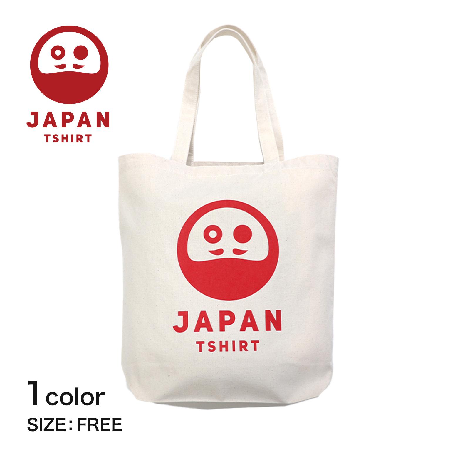 トート バッグ トートバッグ キャンバス デザイン イラスト プリント デザイントート かばん 鞄┃ TSHIRT 和 超激得SALE ダルマ エコバッグ JAPAN 日本 送料無料でお届けします ロゴ ダルマロゴ 和柄 ナチュラル