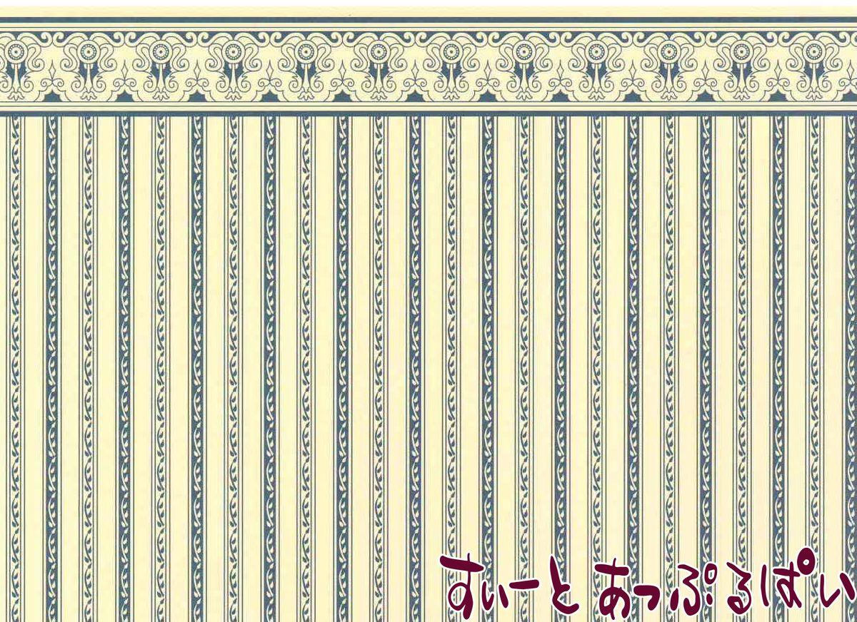 楽天市場 ミニチュア 1 12サイズ ドールハウス用壁紙 Jm01 ドールハウス用 ミニチュアのすぃーとあっぷるぱい