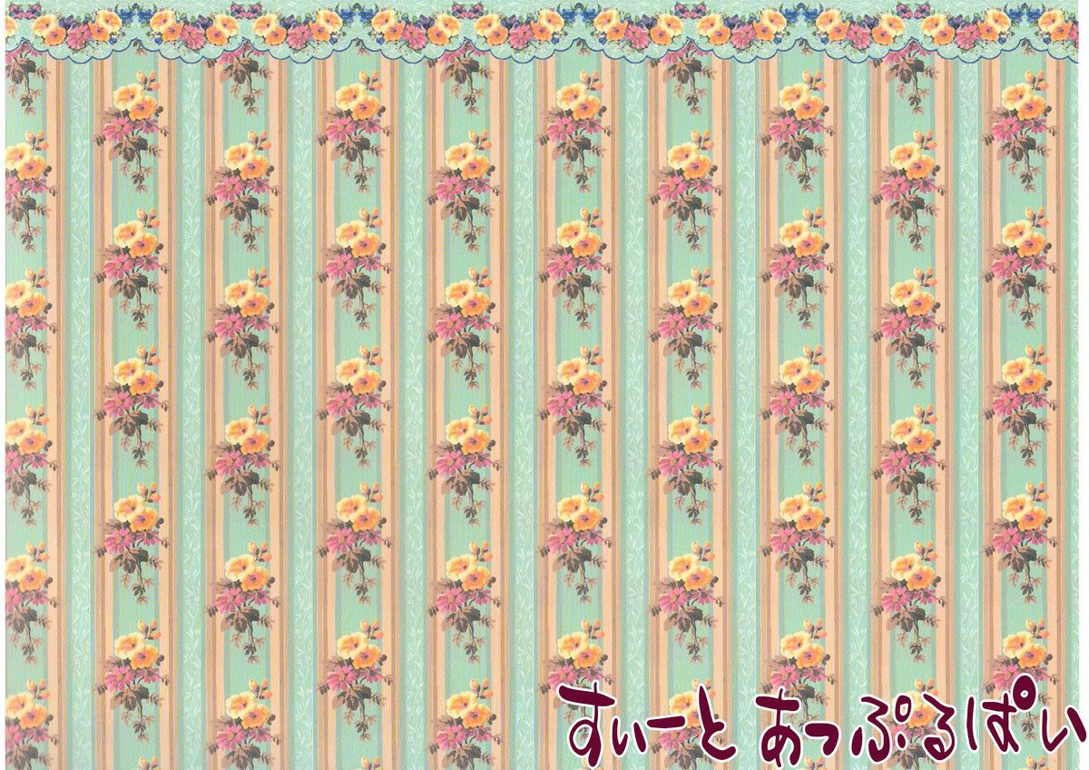 ドールハウス 1 12 ドールハウス用壁紙 ミニチュア 1 12サイズ スペイン製 ドールハウス