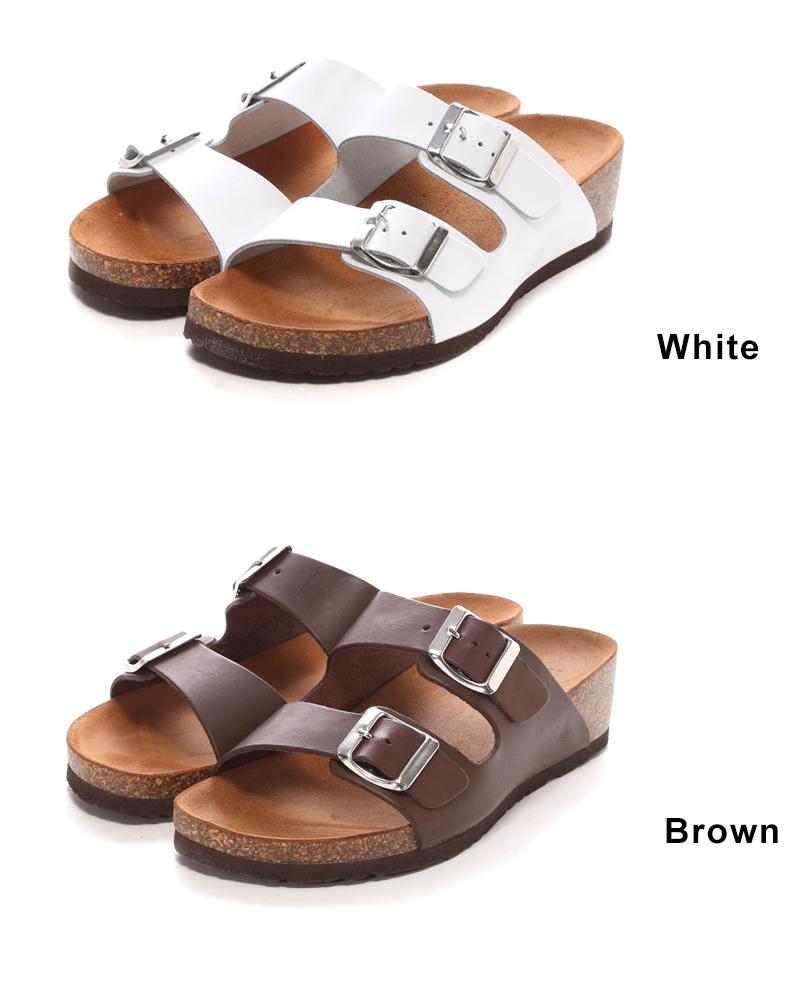 索尼婭 · C 在義大利皮革扣鞋墊涼鞋懷孕及生產後媽拾掇甜媽媽時髦導入選擇導入的涼鞋皮帶扣鞋跟 4.5 sm