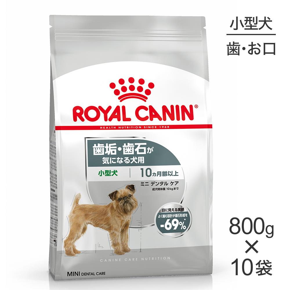 【800g×10袋】ロイヤルカナン ミニ デンタル ケア[正規品]:スイートペット
