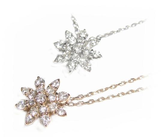 【予約】デコルテに光り輝く結晶を♪計0.25ダイヤモンドネックレス