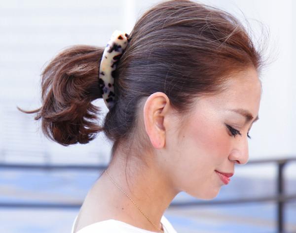 Tortoiseshell banana clips (large) ◆ hairclip, banana clips, women's /Sweet &Sheep