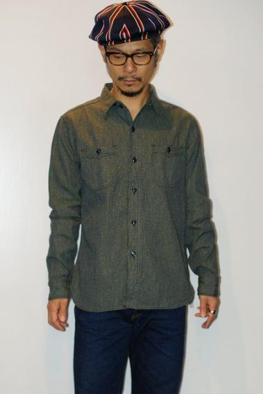 SUGAR CANE (シュガーケーン)長袖ワークシャツ SC28283