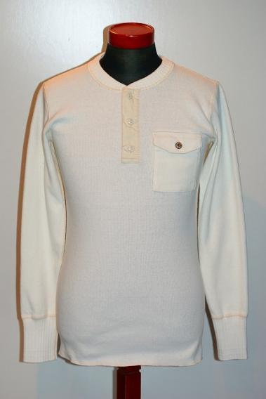 SUGAR 新色追加して再販 CANE シュガーケーン 直輸入品激安 長袖ヘンリーネックTシャツ SC68351