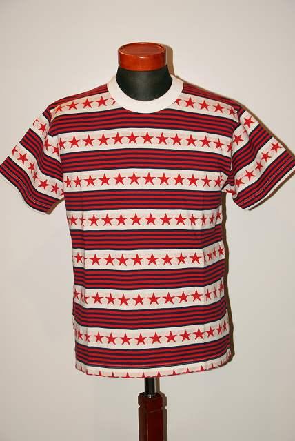 代引手数料・送料無料 SUGAR CANE (シュガーケーン) ジャガード半袖Tシャツ SC77705