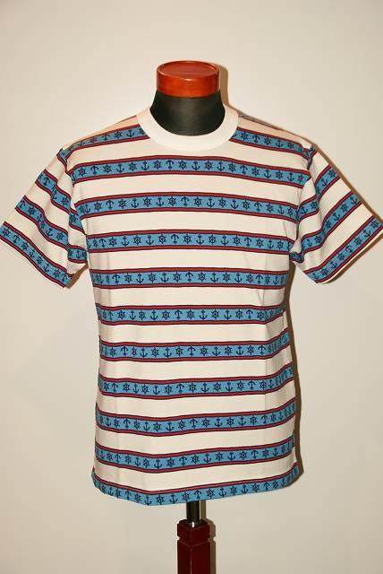 代引手数料・送料無料 SUGAR CANE (シュガーケーン) ジャガード半袖Tシャツ SC77706