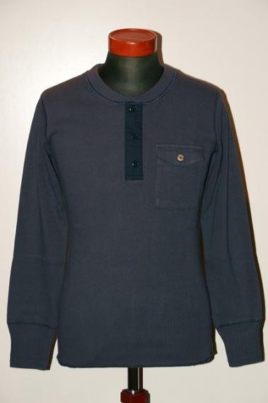 代引手数料・送料無料 SUGAR CANE (シュガーケーン) 長袖ヘンリーネックTシャツ SC67160