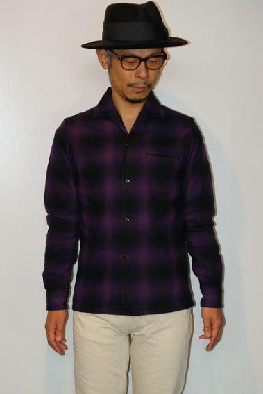 JELADO (ジェラード) 長袖イタリアンカラーシャツ SG43115