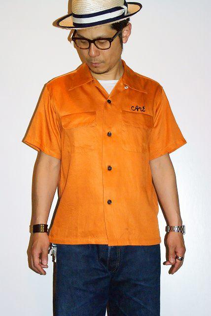 代引手数料・送料無料 King Louie Louie (キングルイ) レーヨンボウリングシャツ KL36639