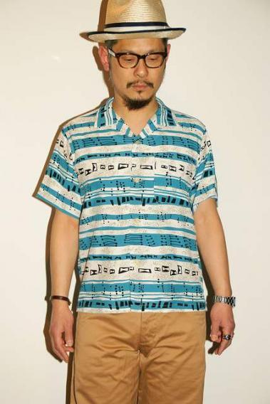 代引手数料・送料無料 STAR OF HOLLYWOOD (スターオブハリウッド) 半袖オープンシャツ SH37882