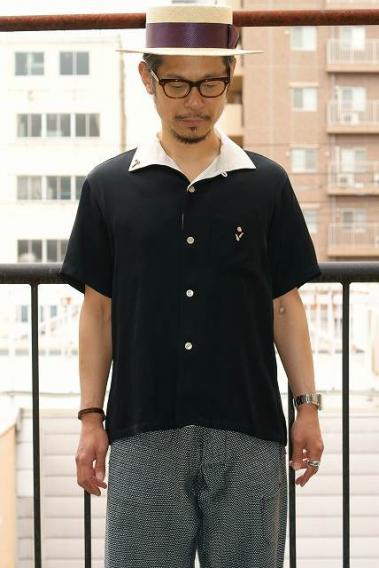 King Louie (キングルイ) レーヨンボウリングシャツ KL38136