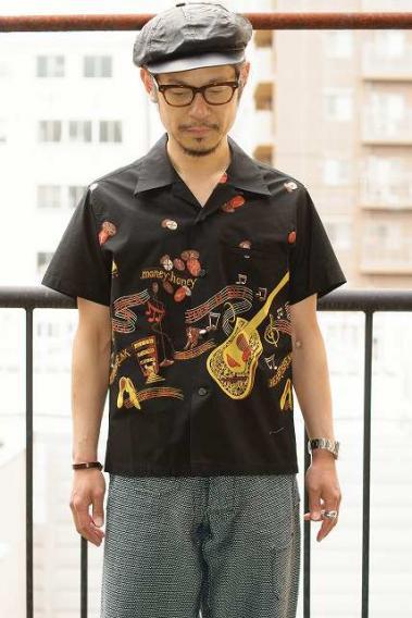 STAR OF HOLLYWOOD (スターオブハリウッド) HOLLYWOOD 半袖オープンシャツ SH38117