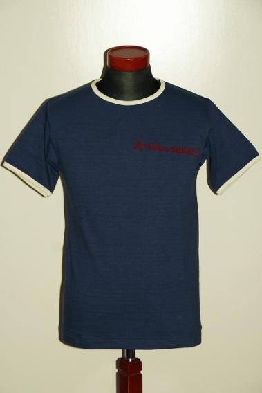 WARE HOUSE (ウエアハウス) リンガーTシャツ 4059
