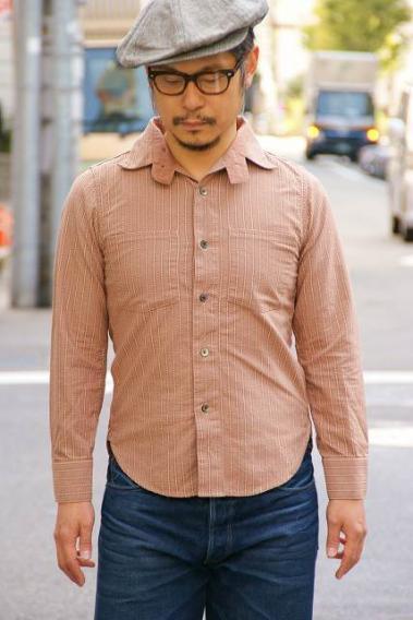 代引手数料・送料無料 DALEE'S (ダリーズ) 長袖ワークシャツ FINER (ファイナー)